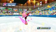 Mario Sonic Olympic Winter Games Gameplay 073