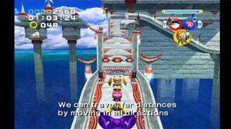 Sonic Heroes- Ocean Palace (Team Rose)