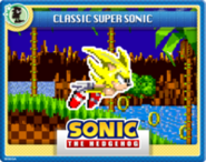 Super Sonic Online Card