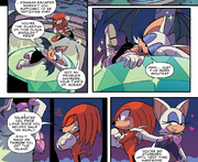 IDW 30 Knux Rouge