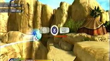 "Sonic Unleashed Shamar ""Arid Sands"" Day (Act 1) S-Rank (Xbox 360)"