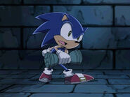 Sonic with Hourglass