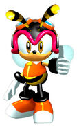 Sonicheroes charmy early