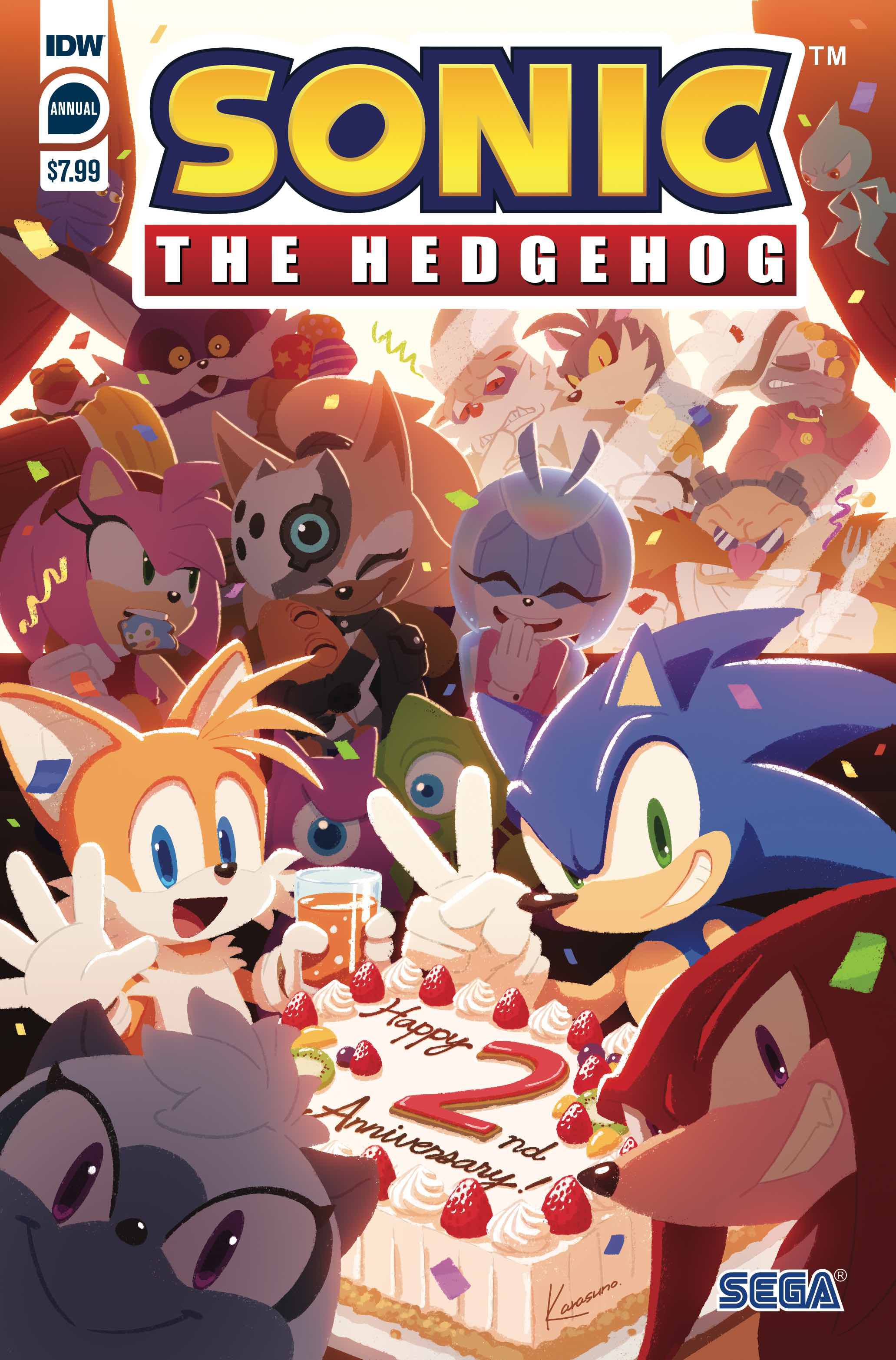 SONIC THE HEDGEHOG #16 GRAY VARIANT IDW COMICS VIDEO GAME SEGA