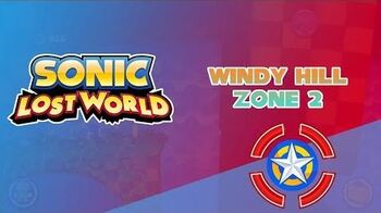 Windy Hill Zone 2 - Sonic Lost World