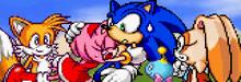 Amy i Sonic SA3