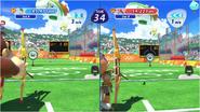 Mario & Sonic at the Rio 2016 Olympic Games - Donkey Kong VS Sticks Archery