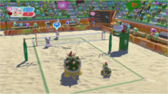 Mario & Sonic at the Rio 2016 Olympic Games - Team Amy VS Team Bowser Beach Volleyball