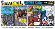 Officer Sonic Off Panel