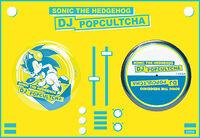 Sonic DJ Pop Cultcha badges