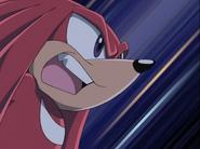 Sonic X Station Break In Knuckles