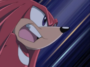 Sonic X Station Break In Knuckles