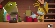 Tails' communicator error