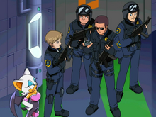 GUN i Rouge w bazie ep 11