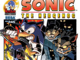 Archie Sonic the Hedgehog Issue 245
