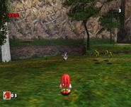 SA Knuckles vs Sonic DX 1