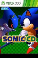 Sonic CD XONE box art
