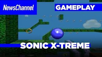 Sonic X-treme First Gameplay