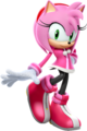 Amy Rose (Character Select Artwork 3) (Mario & Sonic 2016)