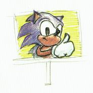 CD Sonic Goal plate Concept