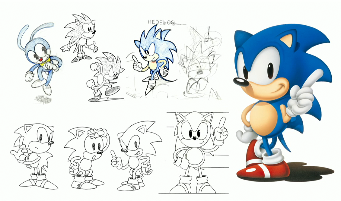 image sonic the hedgehog character sketches png sonic news