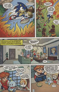Sonic X issue 5 page 3