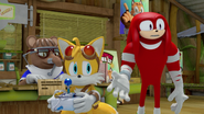 Tails Knuckles buying Mark's game
