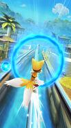 Tails gotta go fast