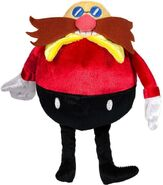 Tomy Sonic 25th Anniversary plush Dr Eggman