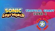 Tropical Coast Zone 4 - Sonic Lost World