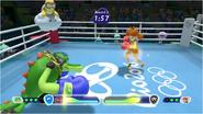 Mario & Sonic at the Rio 2016 Olympic Games - Vector VS Daisy Boxing