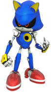 Metal Sonic Channel art 4