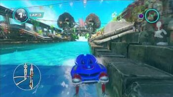 Sonic & All Stars Racing Transformed Temple Trouble