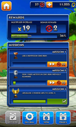 Sonic Dash Missions