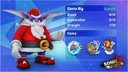 Sonic Forces Speed Battle Santa Big