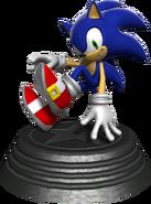 Sonic Generations Sonic Statue