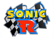 Sonic R logo - light blue