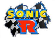 Sonic R logo - light blue
