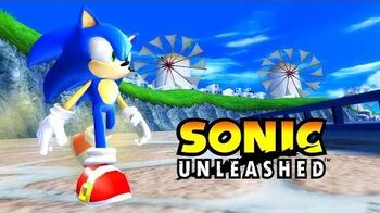 Sonic Unleashed Wii - Windmill Isle Day Act 2 Full HD 1080p