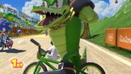 Mario & Sonic at the Rio 2016 Olympic Games - Vector BMX