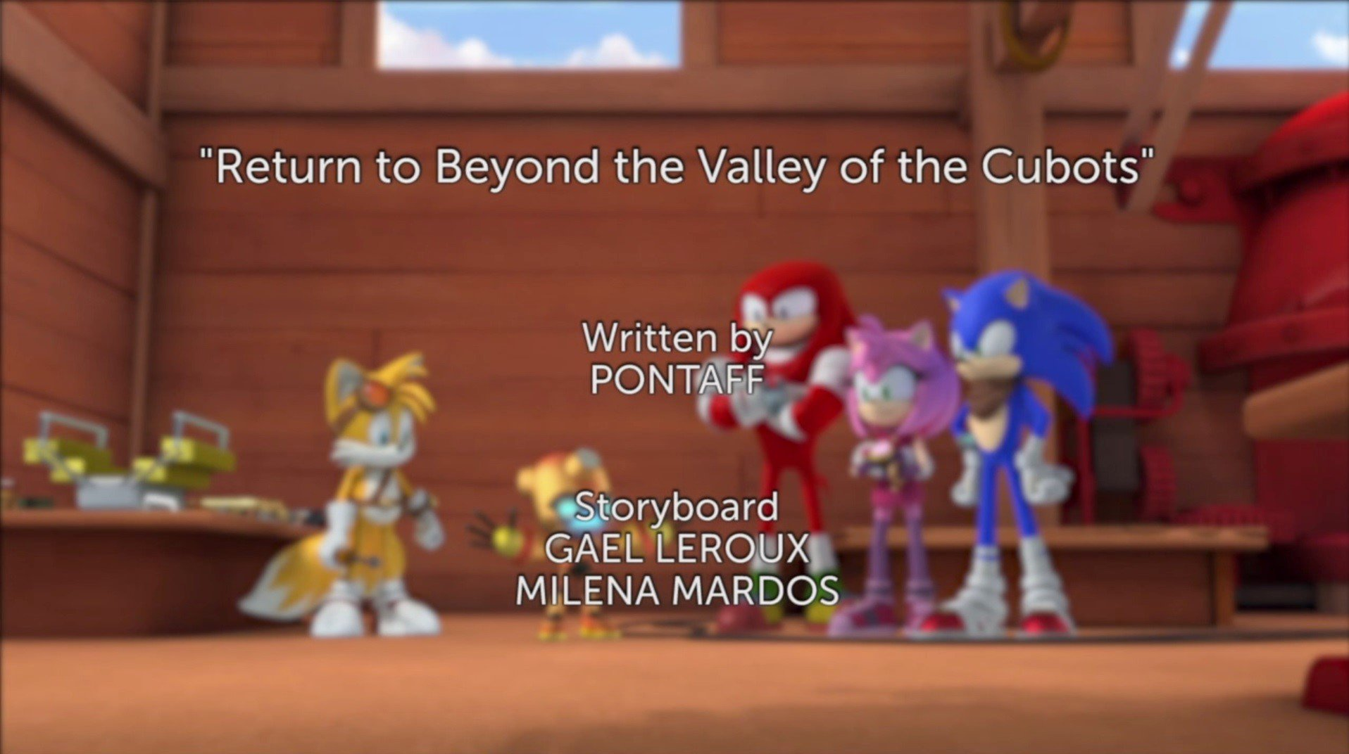 Return to Beyond the Valley of Cubots Title Card