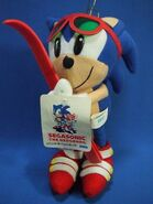 SegaSonic Sports Skiing Sonic