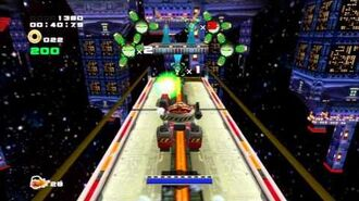Sonic Adventure 2 (PS3) Cosmic Wall Mission 3 A Rank