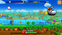 Sonic Runners Sonic Gameplay