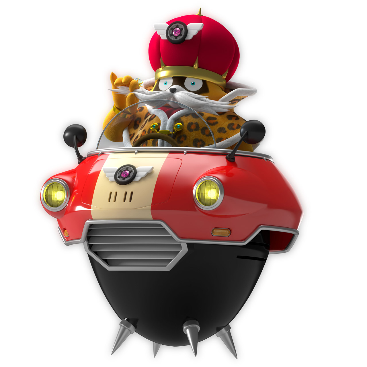 Team Sonic Racing Dodonpa