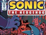 IDW Sonic the Hedgehog Issue 17