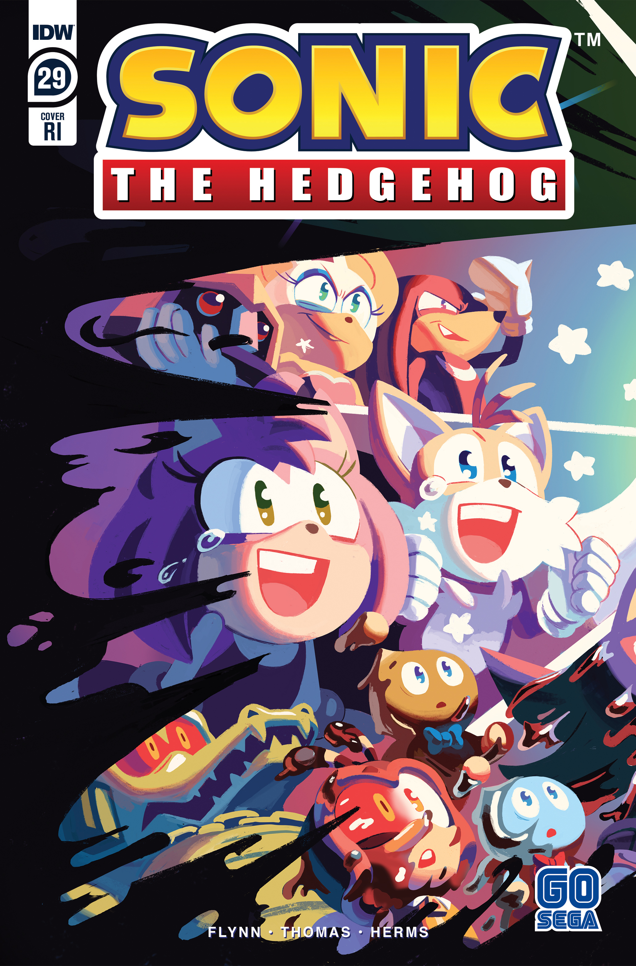 Idw Sonic The Hedgehog Issue 29 Sonic News Network Fandom
