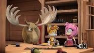 Moose in Tails' Workshop