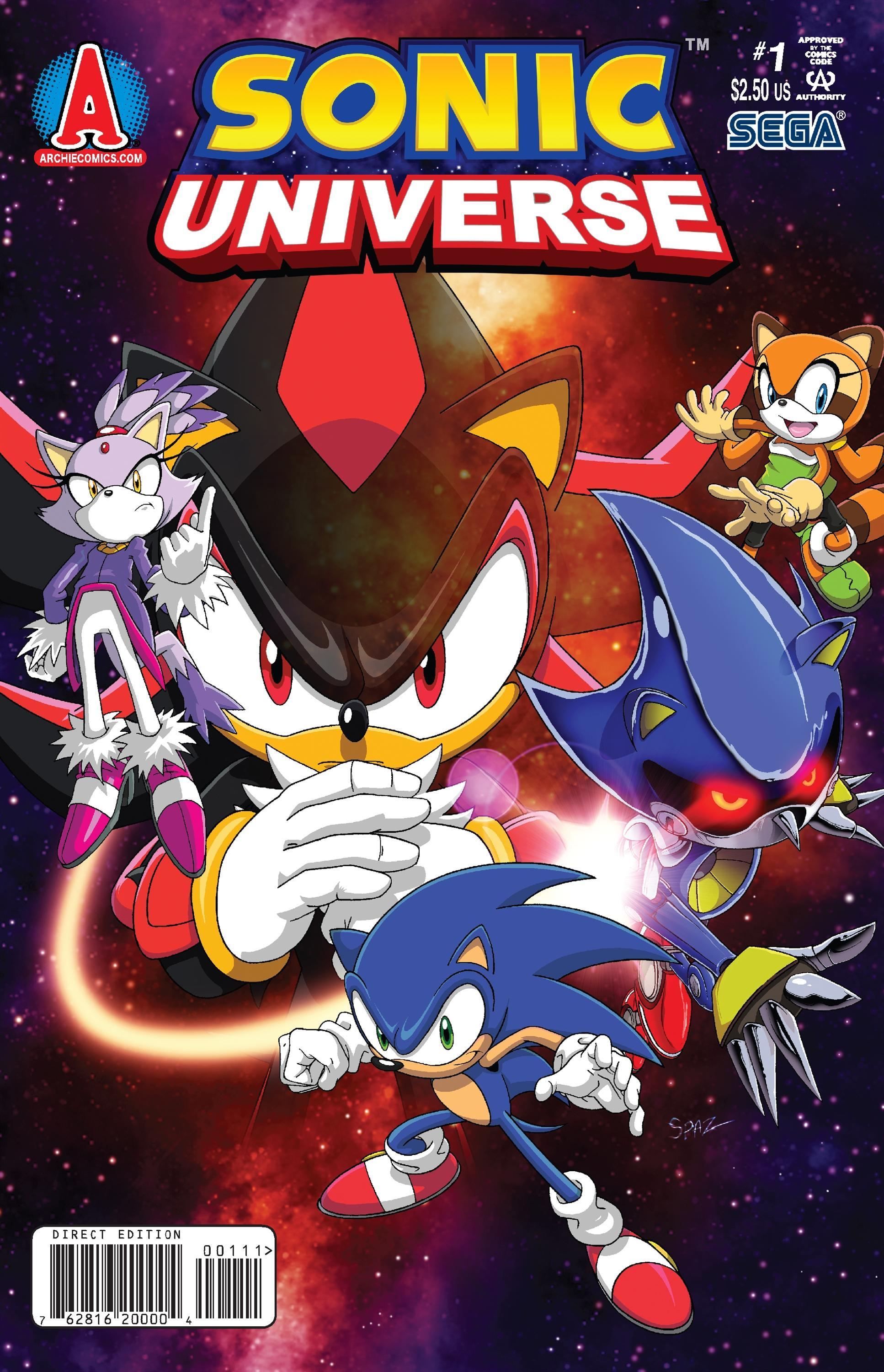 archie sonic universe issue 1 sonic news network fandom powered