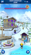 Sonic Dash Snow Mountain Zone restored